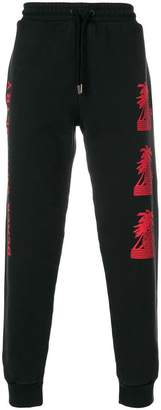 Palm Angels graphic-print track pants