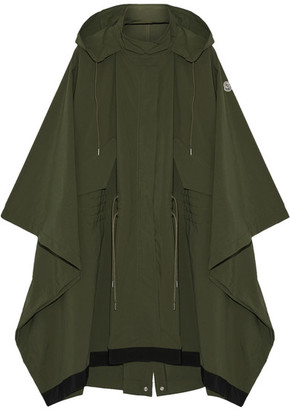 Moncler - Pissenlit Hooded Shell Parka - Army green $895 thestylecure.com
