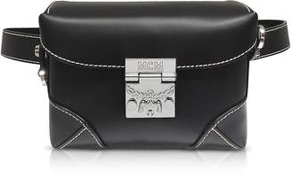 MCM Black Soft Berlin Small Belt Bag