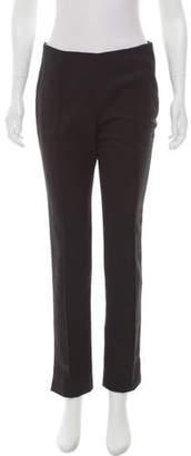 Wes Gordon Mid-Rise Straight-Leg Pants