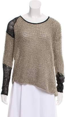 Helmut Lang Lightweight Cropped Sweater
