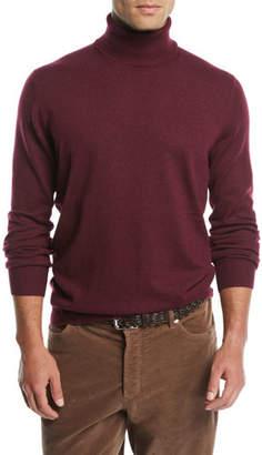 Brunello Cucinelli Men's Cashmere Turtleneck Sweater