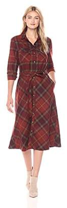 Pendleton Women's Cynthia Plaid Wool Shirtdress