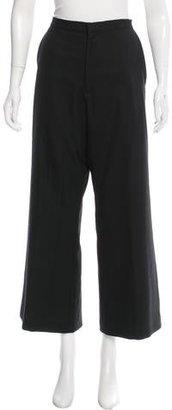 Yohji Yamamoto Wool Wide-Leg Pant $195 thestylecure.com