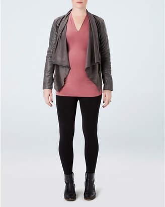 Spanx Plus-Size Mama Faux Leather Leggings