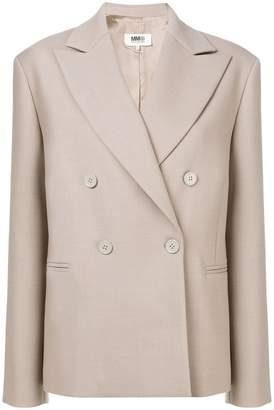 MM6 MAISON MARGIELA oversized double breasted blazer