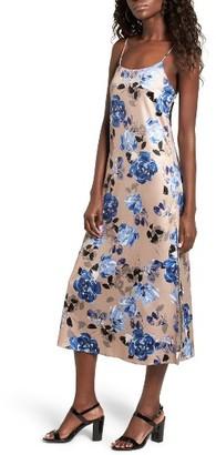 NBD Women's Landon Floral Midi Slipdress