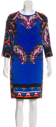 Etro Printed Silk Dress w/ Tags