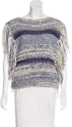 Etoile Isabel Marant Striped Fringe Sweater