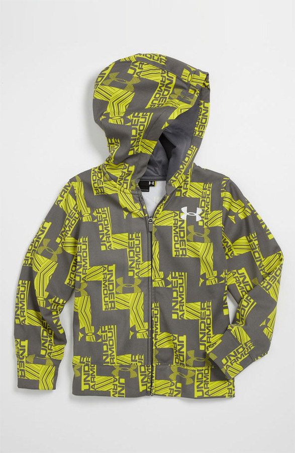 Under Armour 'Cold Activated' Color Changing All Season Gear Hoodie (Little Boys)