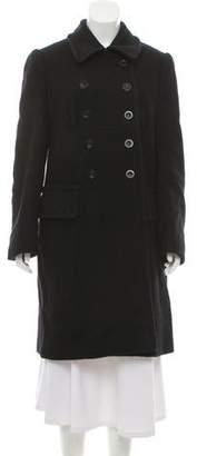 Miu Miu Wool Mohair Short Coat