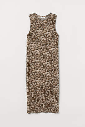 H&M Sleeveless Jersey Dress - Beige