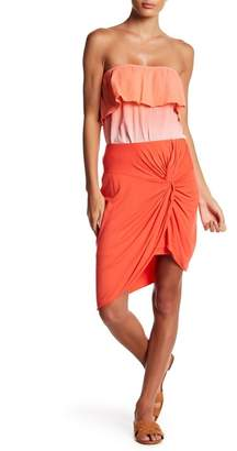 Socialite Twisted Tulip Pencil Skirt