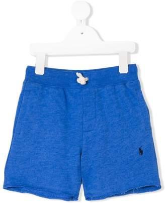 Ralph Lauren Kids embroidered logo shorts