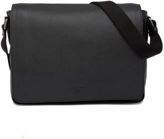 Giorgio Armani Leather Messenger Bag