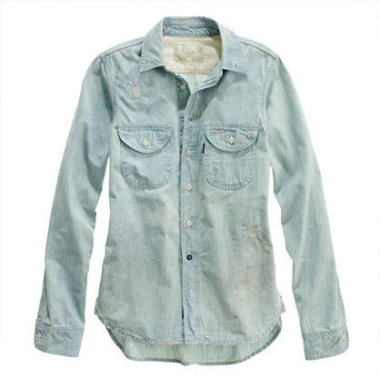 Chimala® chambray shirt