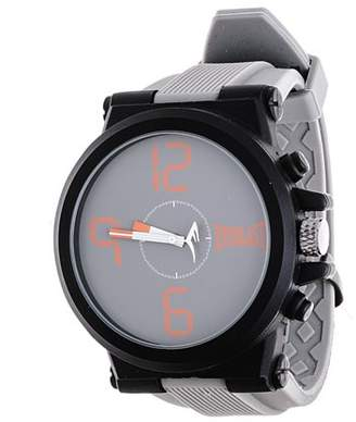 Everlast Jumbo Grey Round Sport Analog Rubber Watch