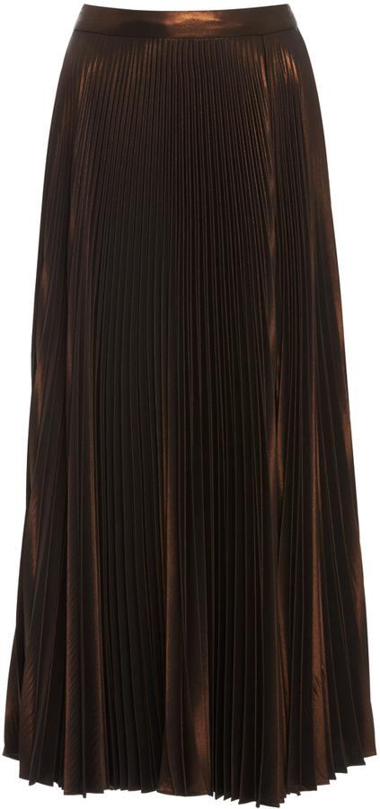 A.L.C.A.L.C. Bobby Pleated Midi Skirt