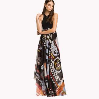 Tommy Hilfiger Racing Logo Maxi Dress