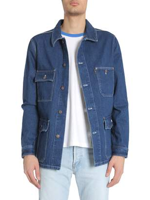 Ami Alexandre Mattiussi Worker Denim Jacket