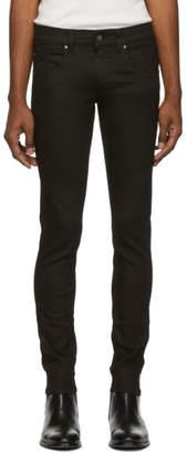 Tiger of Sweden Black Blackened Skinny Jeans