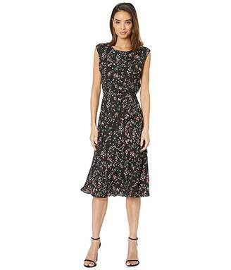 Lauren Ralph Lauren Print Fit and Flare Dress