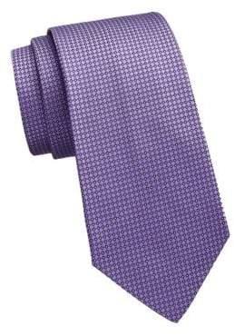 Ralph Lauren Purple Label Bond Street Silk Geometric Tie