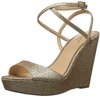 Badgley Mischka Jewel Women's Ambrosia Wedge Sandal