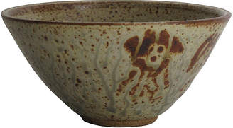 One Kings Lane Vintage Asian Studio Bowl - Fig + Stone Designs