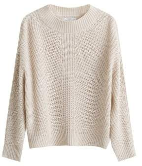 Mango MANGO Open-knit sweater
