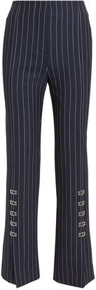Jonathan Simkhai Pinstriped Tailored Cigarette Pants