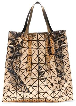 Bao Bao Issey Miyake Platinum Large Metallic Pvc Tote Bag - Womens - Gold