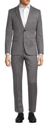 HUGO BOSS Textured Wool Suit