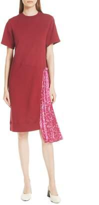Clu Floral Side Pleat Dress