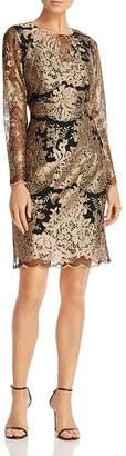 Nanette Lepore nanette Embroidered Mesh Dress