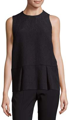 MSGM Women's Pleated Embossed Tank Top