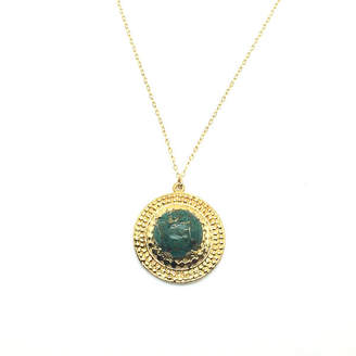Bohemia My Jewelry 14K Gold Plated Armor Pendant Necklace