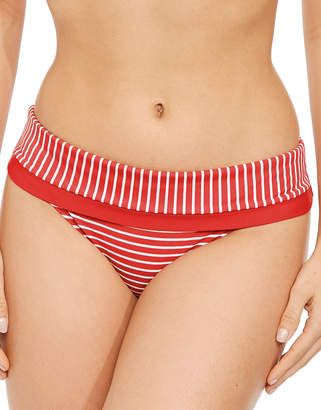 Panache Britt Stripe Fold Brief