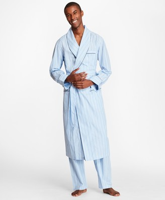 Brooks Brothers Multi-Stripe Robe