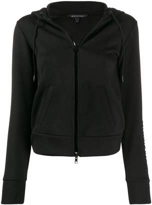Armani Exchange zipped bomber jacket