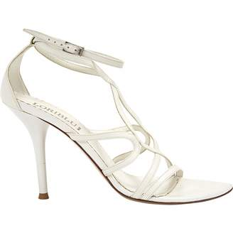 Loriblu White Leather Sandals