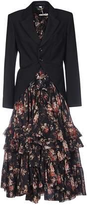 Comme des Garcons Blazer-coated Long Dress