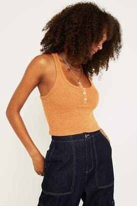 Out From Under Brielle Flirty Henley Tank Top