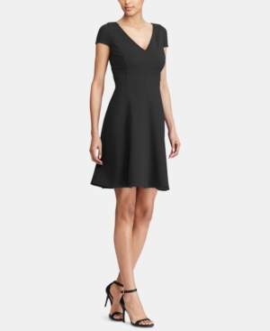 American Living Jacquard Fit & Flare Dress