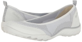 SKECHERS - Breathe-Easy - Symphony Women's Flat Shoes $60 thestylecure.com