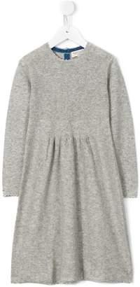 Cashmirino Round neck knitted dress