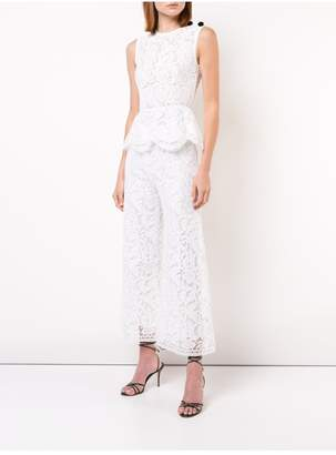 ADAM by Adam Lippes Corded Lace Cropped Pant