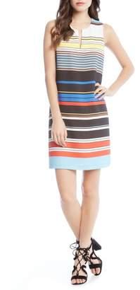 Karen Kane Modern Art Shift Dress
