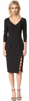 Black Halo Rizzo Sheath Dress $345 thestylecure.com