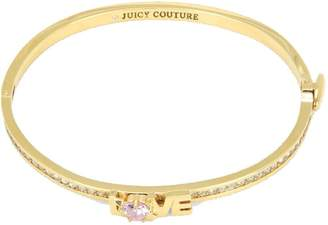 Juicy Couture Unknown Stacked Love Pave Fine Bangle Bracelet